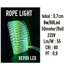 Rope Light atau Lampu Selang LED Repro