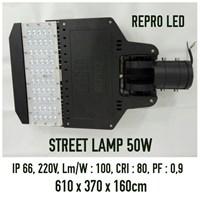 Lampu Jalan atau Street Light 50 Watt Repro