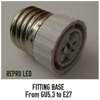 Jual Fitting Base From GU5.3 to E27