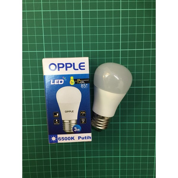 LED Bulb 3 Watt Opple