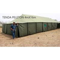Tenda Peleton - Tenda Militer - Tenda Barak - Tenda Bantuan
