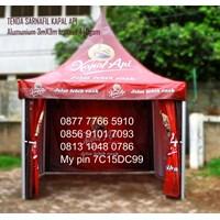 Jual Tenda Promosi Sarnafil Branding KAPAL API