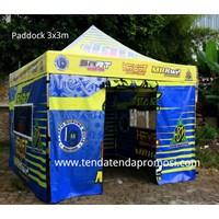 Jual Tenda Paddock RAcing - Produksi Tenda Paddock - Tenda Lipat - Pembuat Tenda Paddock - Design Tenda Paddock