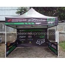 Tenda Paddock 33HX Dinding 3 sisi - Tenda Paddock Racing - Tenda Lipat - Tenda Pameran - Tenda Usaha