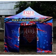 Tenda Paddock 33HX MJBIKE - Tenda Paddock Racing - Tenda Lipat - Tenda Promosi