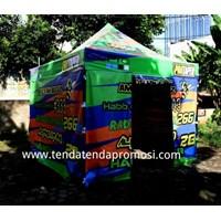 Tenda Lipat  3x3m Hexagonal Steel - Tenda Paddock 3x3m - Produksi Tenda Paddock - Pabrik Tenda - Pembuat Tenda