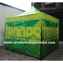 tenda paddock hexagonal alumunium frame 3x3m - Tenda Paddock - Produksi Tenda Paddock - Tenda Paddock Racing - Penjual Tenda Paddock