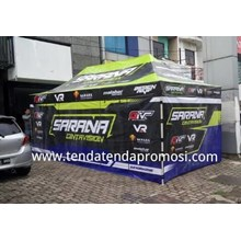 Tenda Paddock 3x6m HXS - Tenda Lipat - Tenda Paddock Racing - Tenda Lipat Racing Team