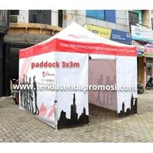 Tenda Paddock - Tenda Lipat - Tenda Lipat 3x3m - Produksi Tenda Paddock - Penjusl Tenda Lipat