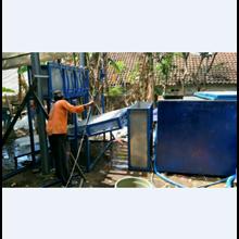 Mesin Ice Block Es Balok MEB 050 Kapasitas 5 Ton /