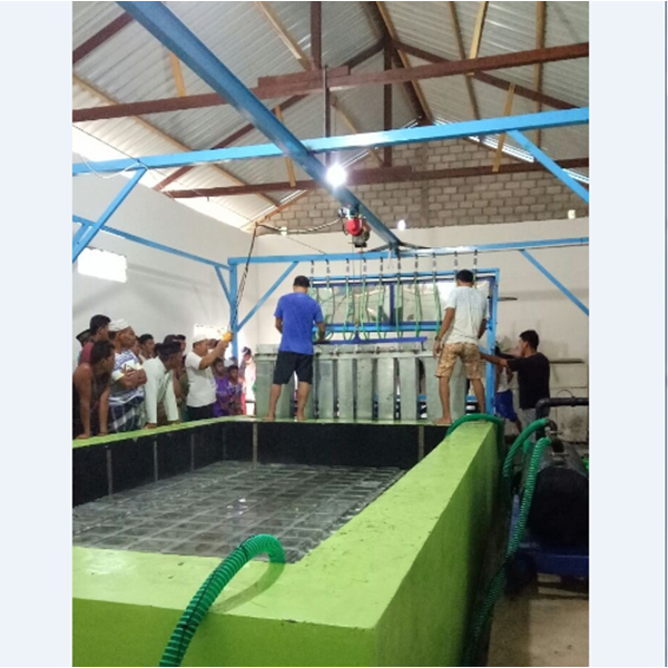 Mesin Ice Block Es Balok MEB 150 Kapasitas 15 Ton / 24 Jam