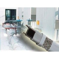 Heat Tracing Cable FLX for Pipe Freeze Protection 1
