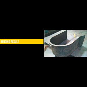 Jasa Potong  dan tekuk baja (cut and bend and roll steel) By PT. Panca Abadi Aneka Citra