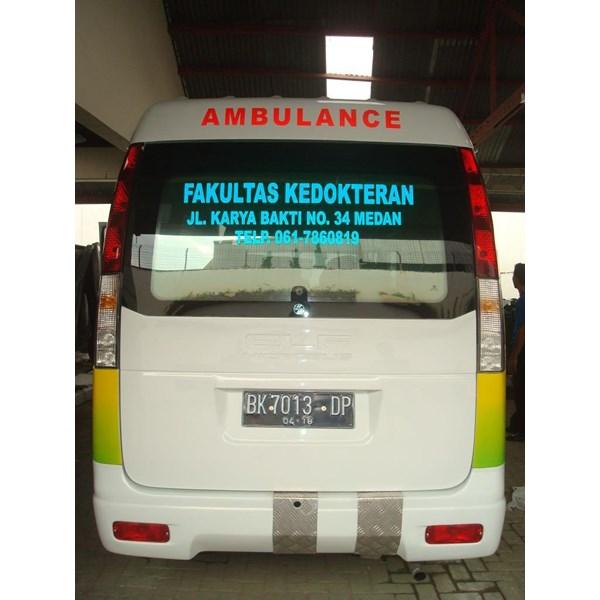 Karoseri Modifikasi Ambulans Isuzu Elf
