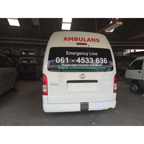 Karoseri Ambulance Toyota Hiace