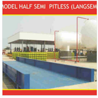Truck Scale Half Semi Pitless (Langsem) Gewinn