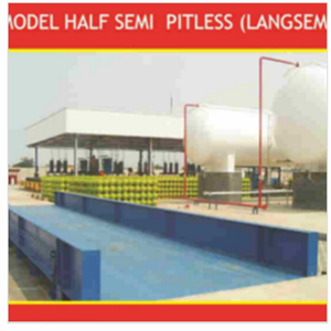 Truck Scale Half Semi Pitless (Langsem)