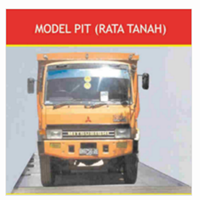 Truck Scale Pit (Rata Tanah)