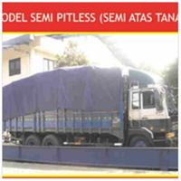 Truck Scale Semi Pitless (Semi Atas Tanah)