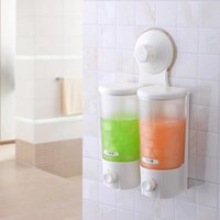 Jual Soap Shampoo Crystal Dispenser (Dispenser Sabun Sampo Bening)
