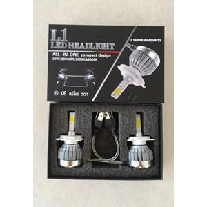 V15 Turbo LED Canbus Error Free Headlight Lampu Mobil H1 H11 HB3 H7 HB4 H8 H9 H4