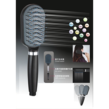 3in1 Mineral Ion Comb Shower Head Shower Sisir Ion Filter Air
