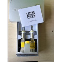 SUPER LED CREE with Belt Headlight Lampu Utama Mobil H4 H11 HB3 H7 H1 Aksesoris Mobil