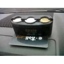 Car Coin Card Holder Tempat Koin Kartu Mobil Aksesoris Mobil
