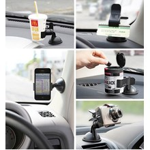 Car Windshield Mount Stand Holder Bracket Lazypod UNIVERSAL Aksesoris Mobil