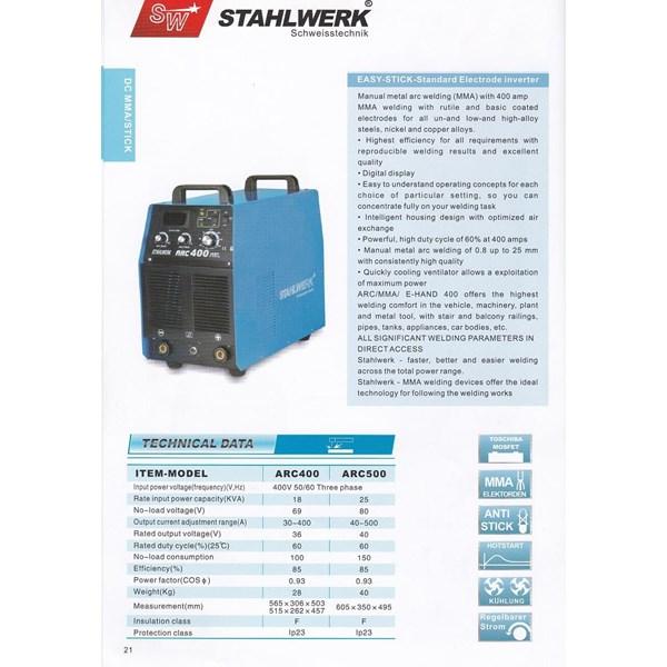 mesin Las Stahlwerk