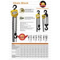 Jual chain block powertech