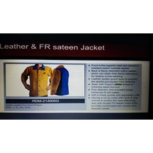 Welding jacket redram