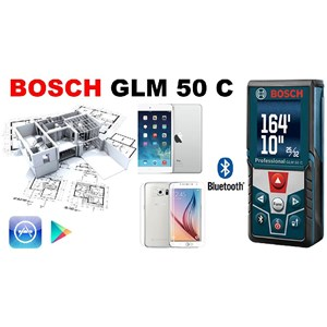 Pengukuran Laser Bosch GLM 50 C
