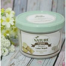 Facial Scrubs Nature Organic Milk Bengkoang