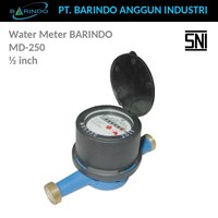 Water Meter Barindo MD-250 0.5 Inch