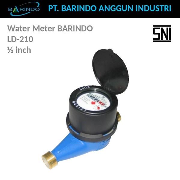 """Water Meter BARINDO LD-210 Brass 1/2"""""""