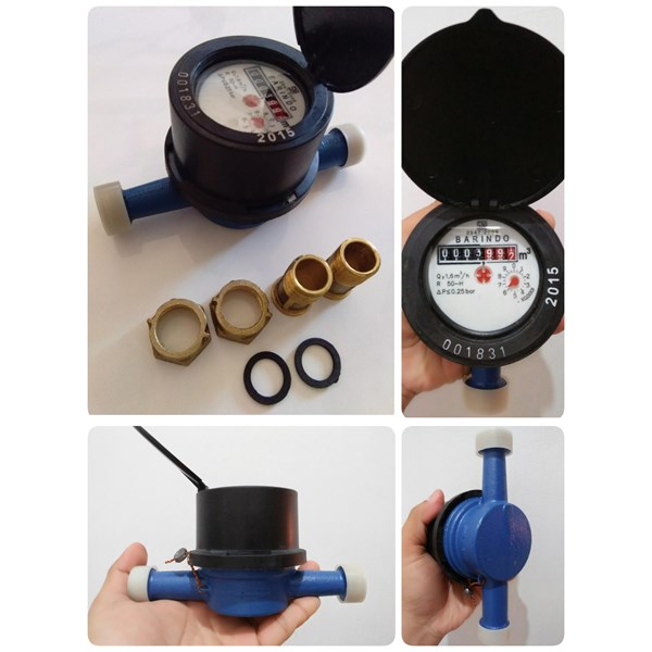 Water Meter BARINDO MD-250 Brass 1/2""