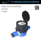 Meter Air BARINDO LD-410 Plastik 1/2