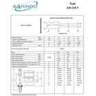 Meter Air BARINDO LD-210V Kuningan 1/2