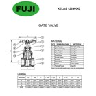 Gate Valve FUJI 2