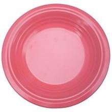 Piring Makan Ulir 9.5 inch Pink - Ifiancy Melamine 2310