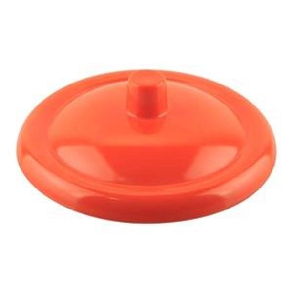Tutup Gelas Lis 4.5 inch Orange - Glori Melamine 107