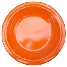 Piring Makan Ulir 8.5 inch Orange - Ifiancy Melamine 2309