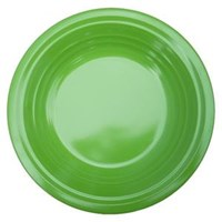 Piring Makan Ulir 8.5 inch Hijau - Ifiancy Melamine 2309