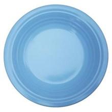 Piring Makan Ulir 8.5 inch Biru - Ifiancy Melamine 2309