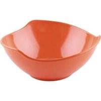 Mangkok - Mangkuk Gelombang 7 inch Orange - Glori Melamine 4870