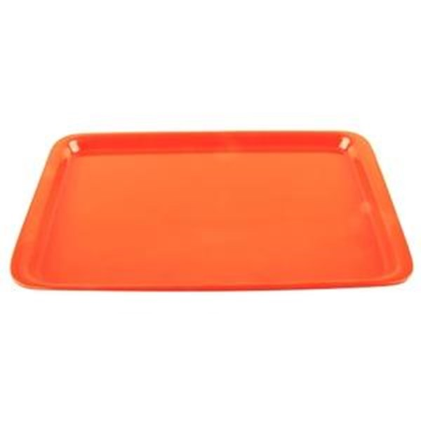 Nampan Baki Roti 36x25cm Orange - Glori Melamine 9014
