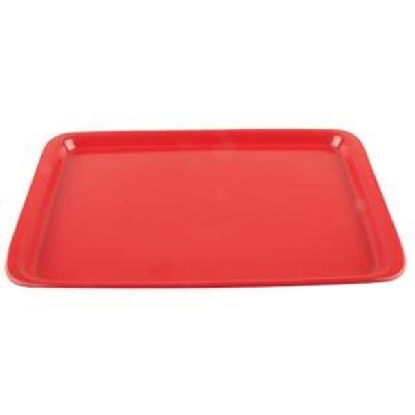 Nampan Baki Roti 36x25cm Merah - Glori Melamine 9014