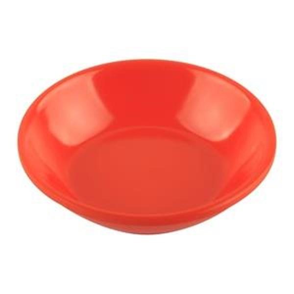 Piring Sambal 3.5 inch Orange - Glori Melamine 338