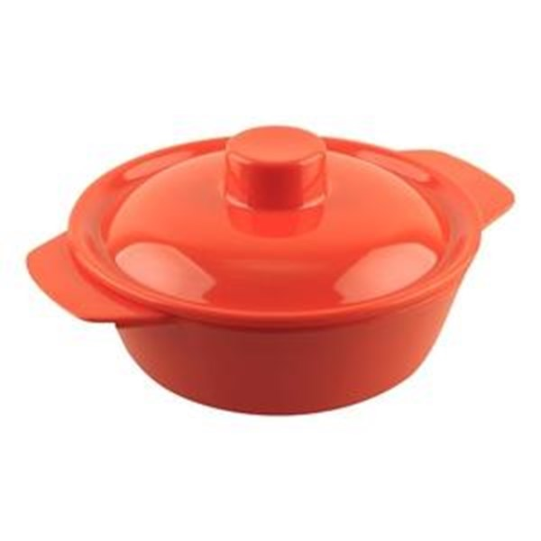 GLORI MELAMINE 3805-Basy Baby + Cover Orange